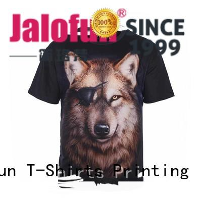 Jalofun customized custom screen print shirts for business for travel