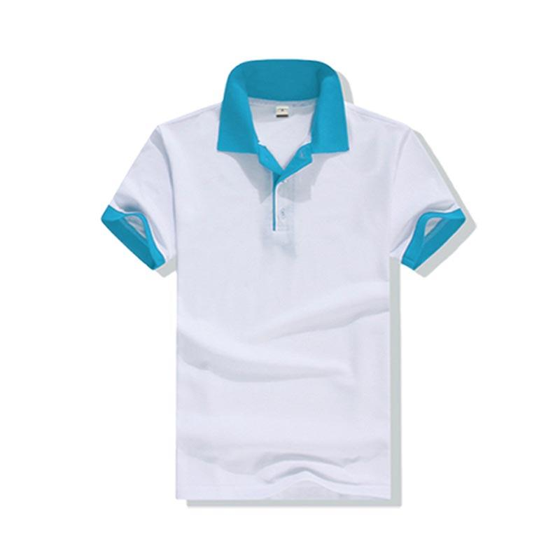 Wholesale Mens Polo Clothes with colorful sleeve