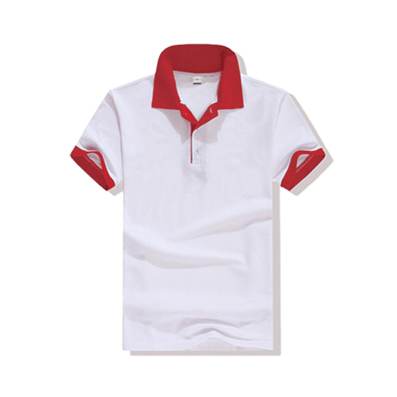 New pique polo shirt hem for business for work clothes-2