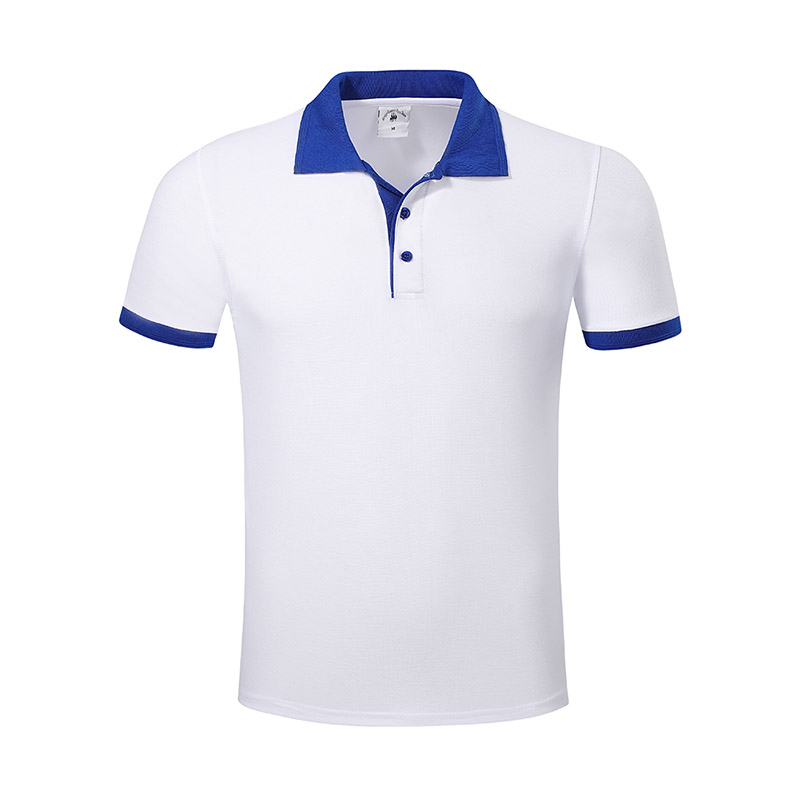New pique polo shirt hem for business for work clothes-14