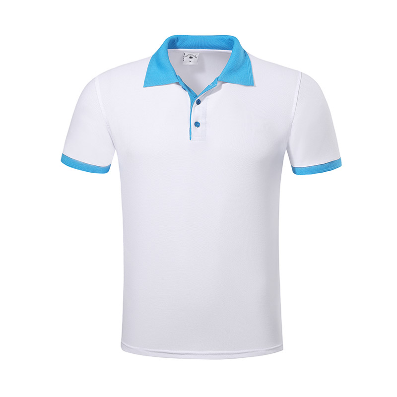 New pique polo shirt hem for business for work clothes-20