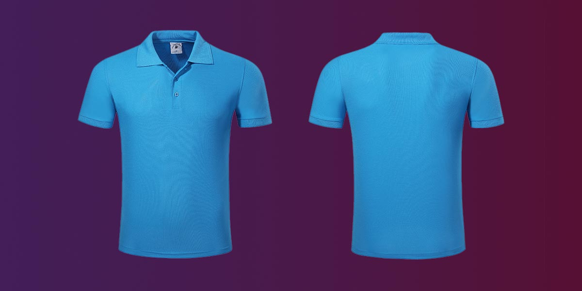 Latest pique polo shirt mens company for going to school-1