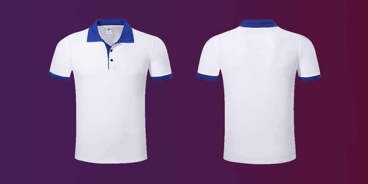 New pique polo shirt hem for business for work clothes-1