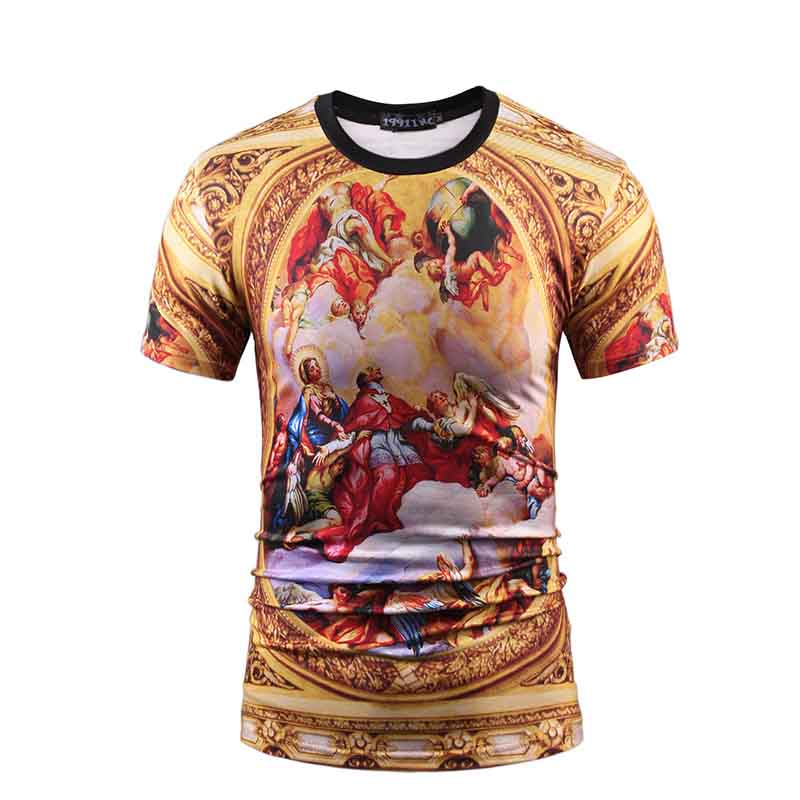 Jalofun polyester custom prints shirts for sale for travel-18
