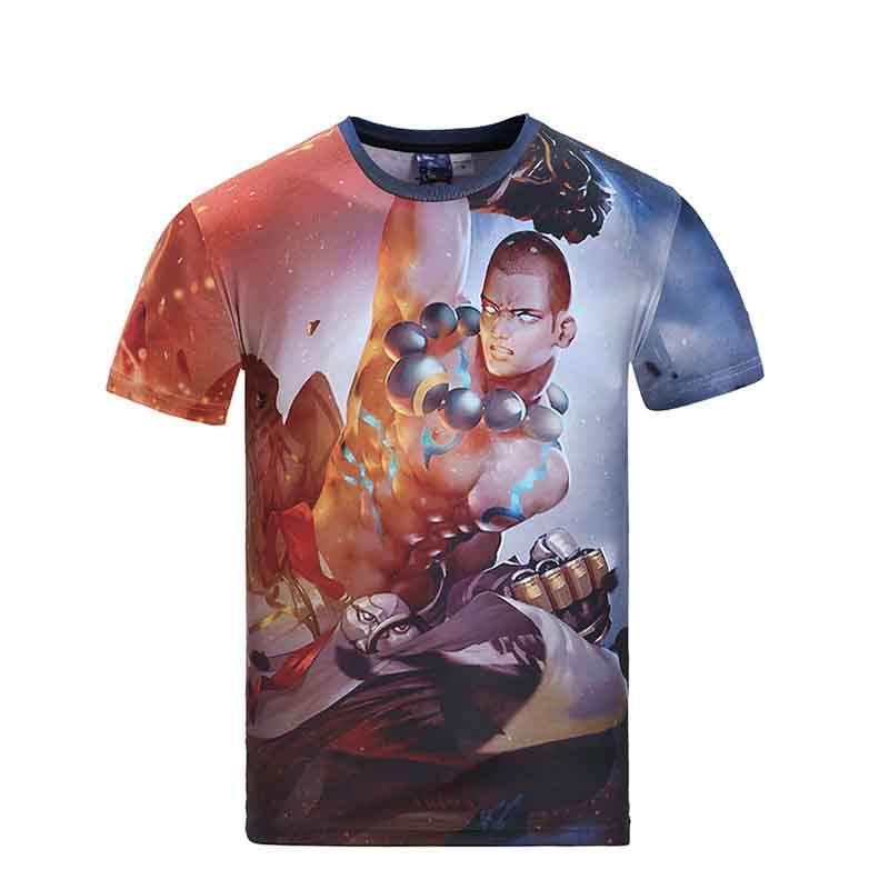 Jalofun cotton custom tee shirt printing suppliers for man-23