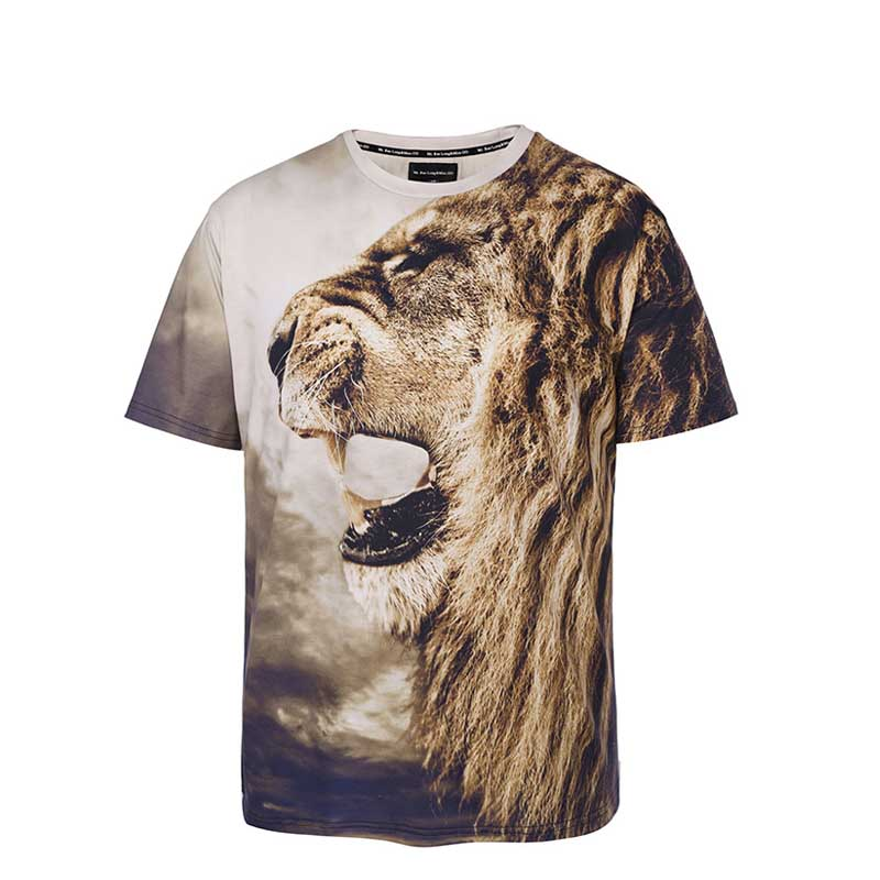 Factory Price Bespoke T Shirt Printing with Custom Logo-25