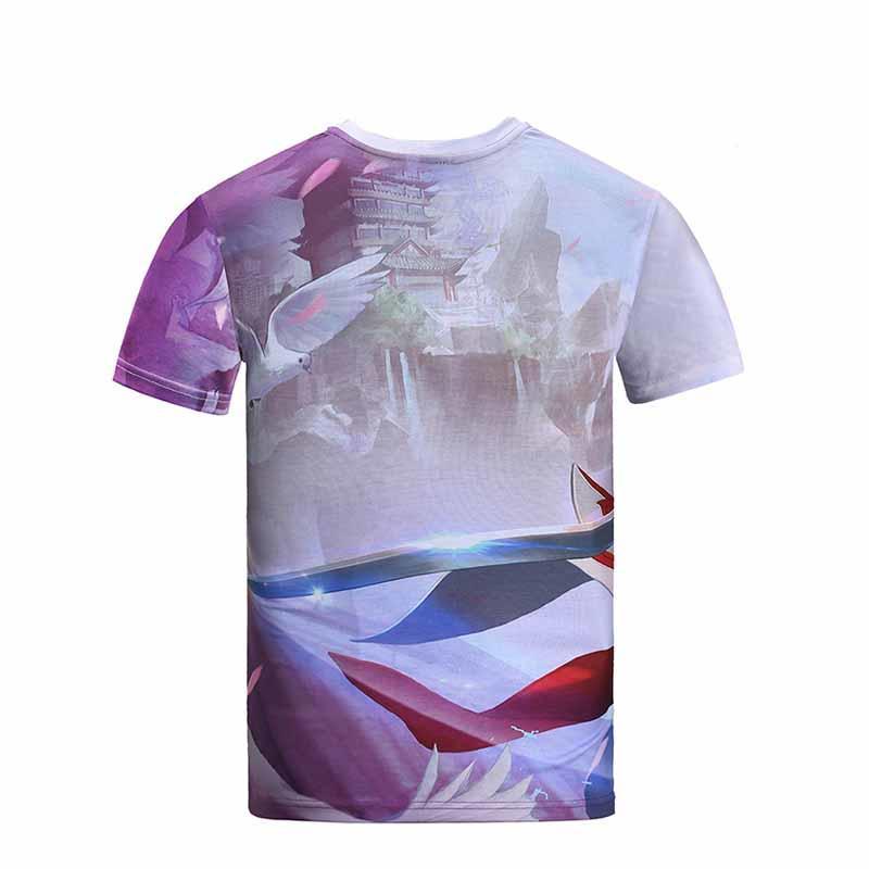 Best Customized T Shirt /Sublimation Tshirts with Custom Logo