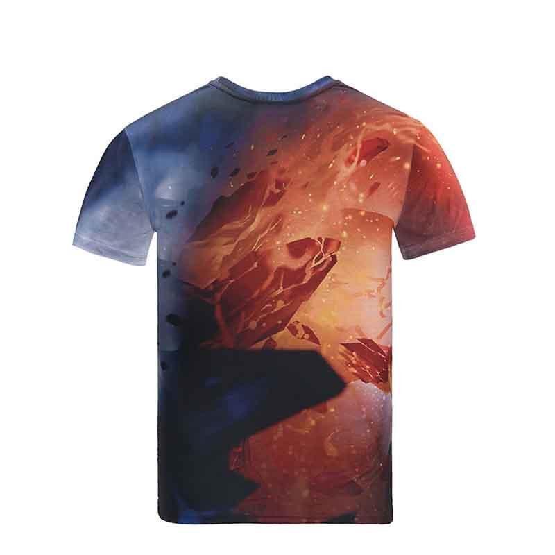 Cheap Custom Screen Print Shirts with Logo/ Sublimation T Shirts