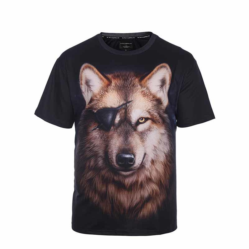 Sublimation Tee Shirt with Custom Logo Printed Shirt