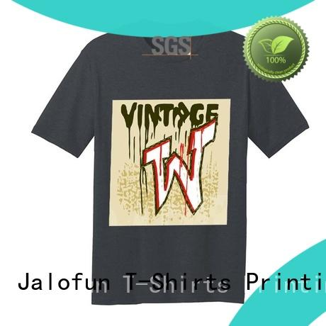 sublimation direct to garment printing t shirt customized for work clothes Jalofun