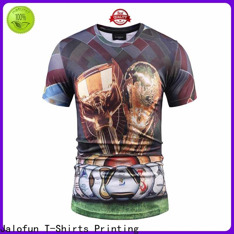 Jalofun transfer sublimation printing t shirt for sale for going to school
