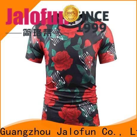 Jalofun made bespoke t shirt printing for business for man
