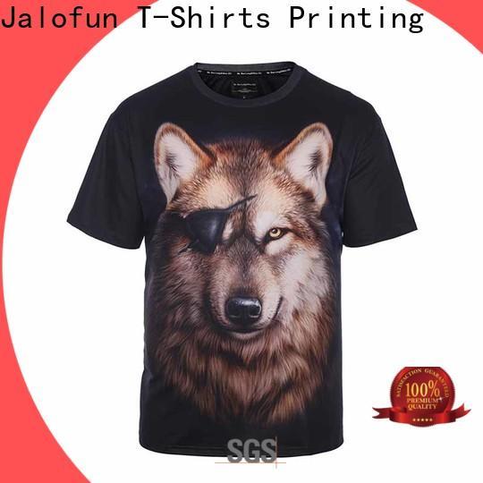 Jalofun plain printing shirt for business for travel