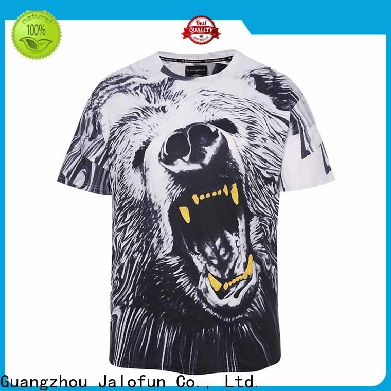 Jalofun screen heat transfer printing t shirt company for dating