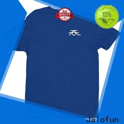 Jalofun High-quality bespoke t shirts manufacturers for leisure time