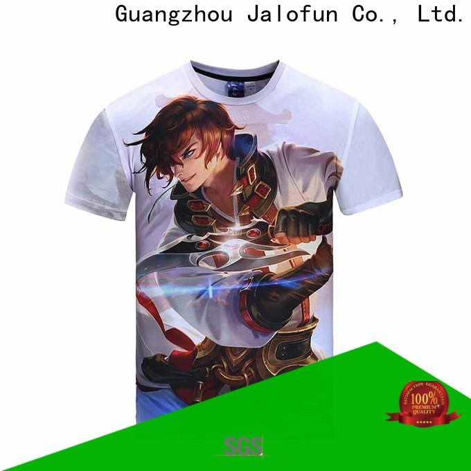 Jalofun tshirt printing shirt for sale for summer