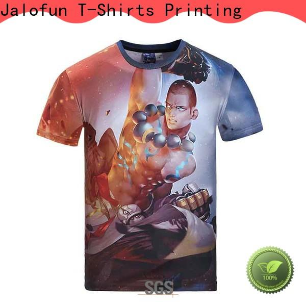 Jalofun Best custom embroidered t shirts for business for man