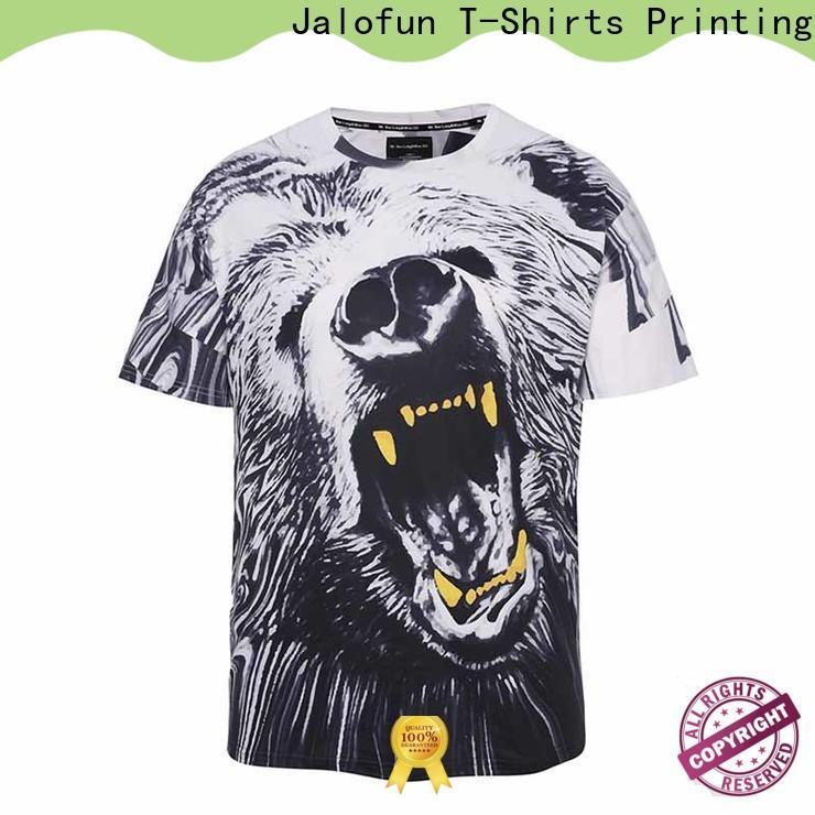New custom logo shirts sublimation manufacturers