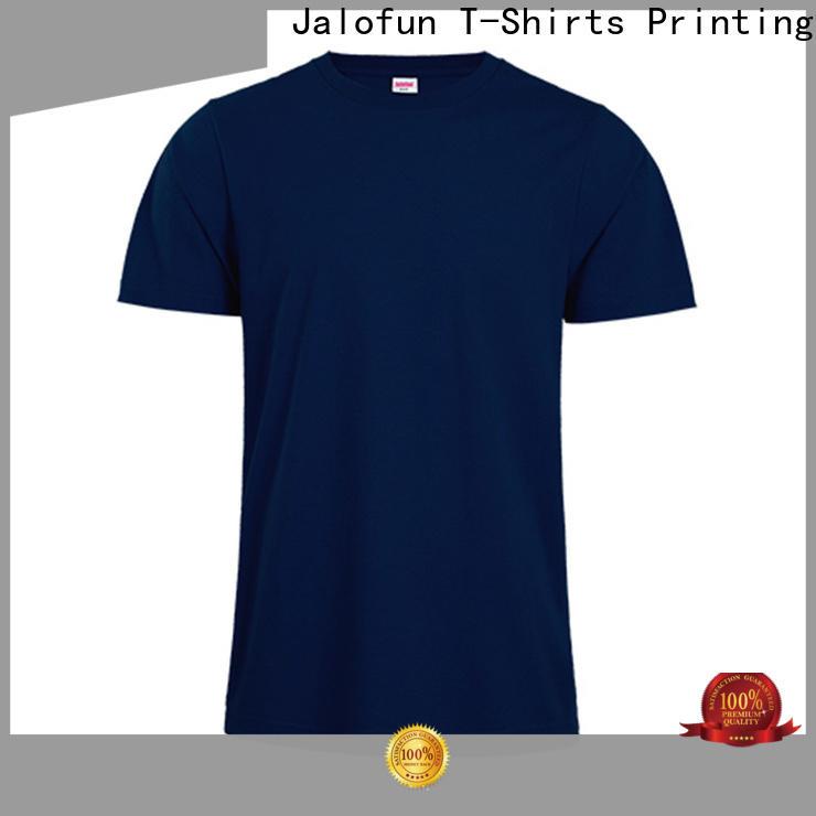 Jalofun logo heat transfer printing t shirt company for dating
