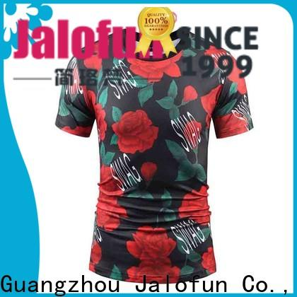 Jalofun Best printing shirt factory for summer