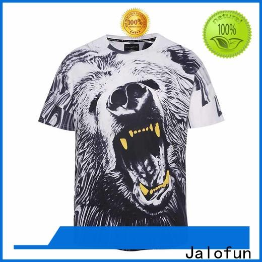 Jalofun customized custom prints shirts manufacturers for class uniform