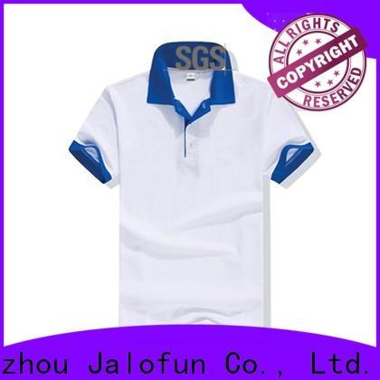 Jalofun top pique polo shirt suppliers for spring