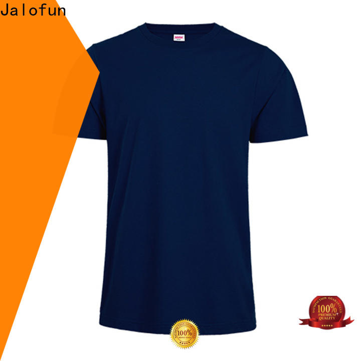 Jalofun Top custom logo shirts manufacturers for spring