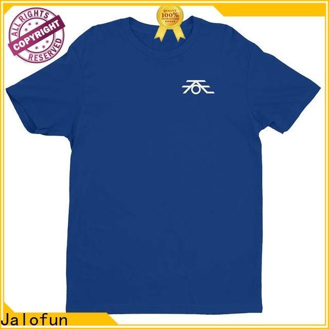 Jalofun New printing shirt company for class uniform
