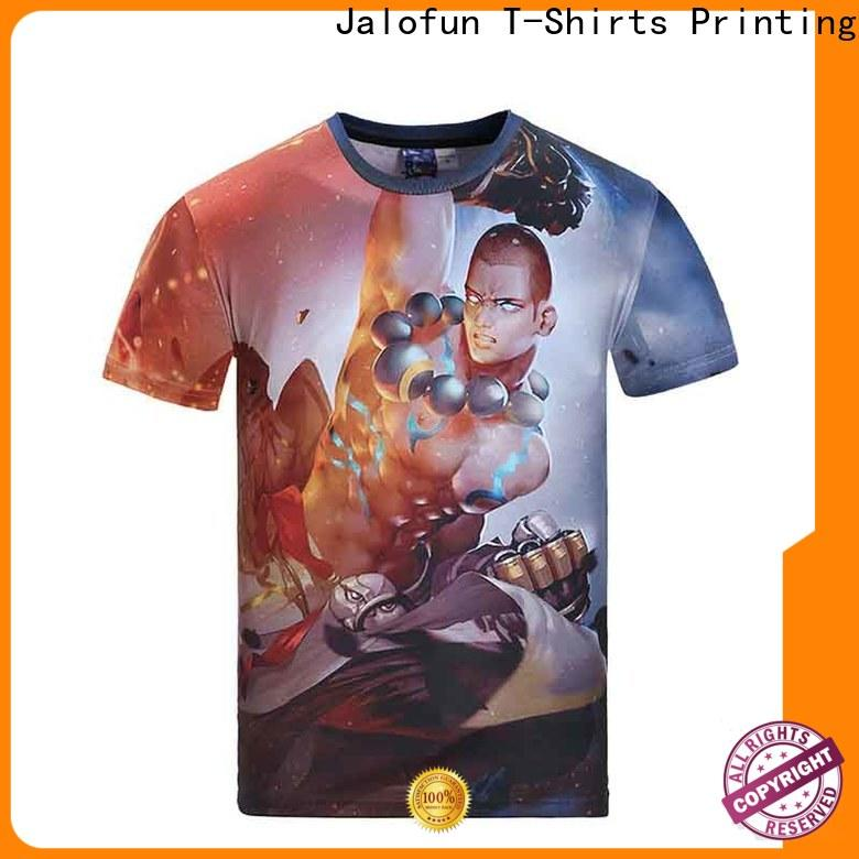 Jalofun New custom prints shirts for sale for spring