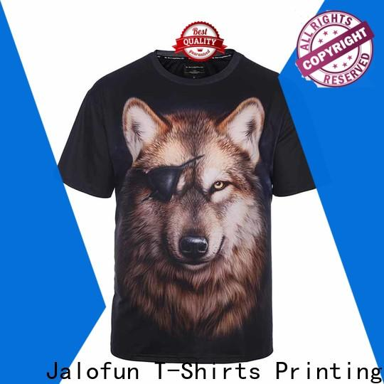 Jalofun low bespoke t shirts for sale for class uniform