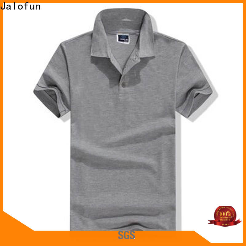Jalofun Wholesale cotton polo shirts for sale