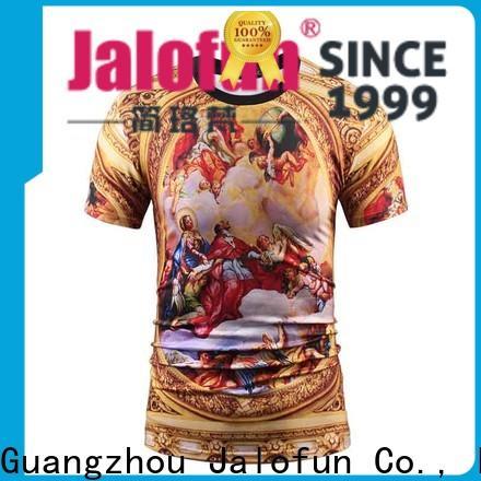 Jalofun New silk screen printing t shirt for sale for outdoor activities