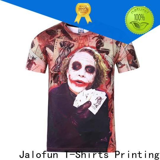 Top custom embroidered t shirts printing company for travel