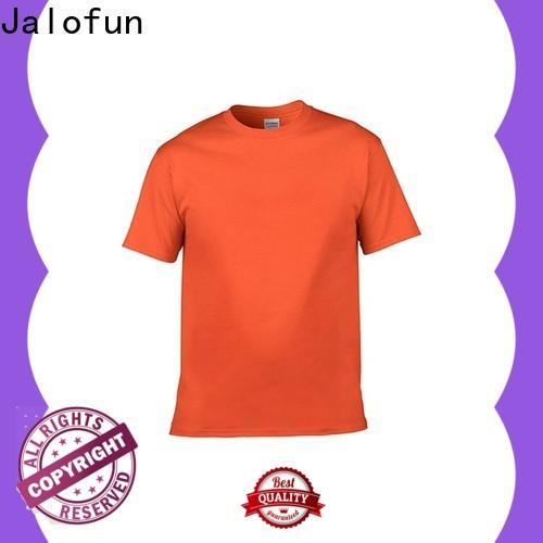 Jalofun Custom sublimation printing t shirt factory for spring