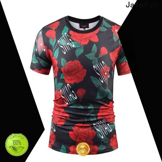 Jalofun sublimation custom tee shirt printing suppliers for going to school