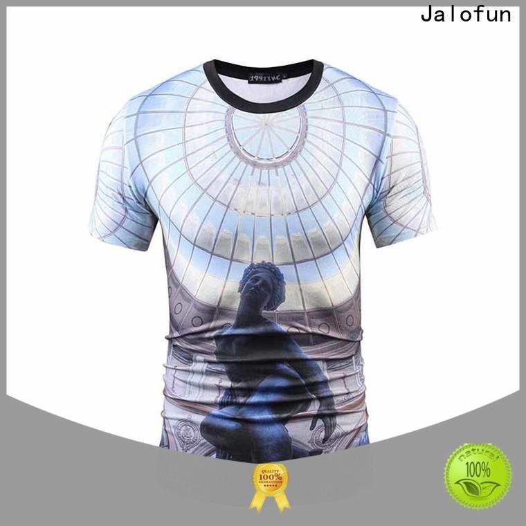Jalofun Wholesale direct to garment printing t shirt for sale for outdoor activities