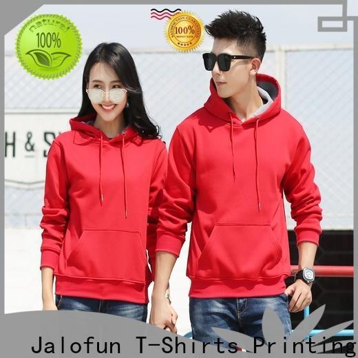Jalofun Wholesale custom made sweatshirts company for woman