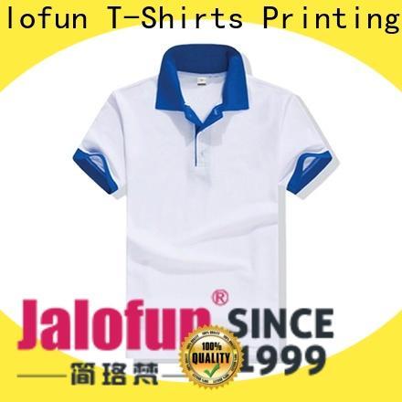 Jalofun shirt custom polo shirt supply for going to school