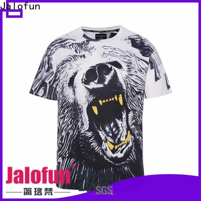 Jalofun plain customized shirts factory for summer
