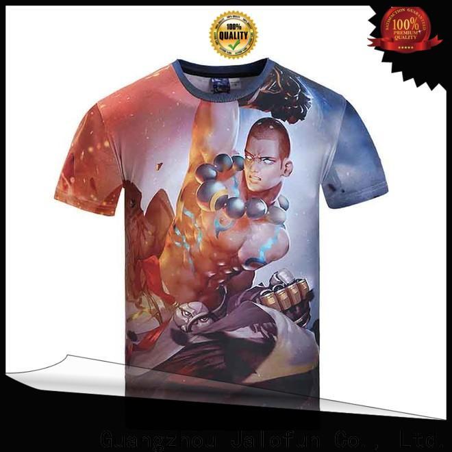 Jalofun Latest printing shirt manufacturers for work