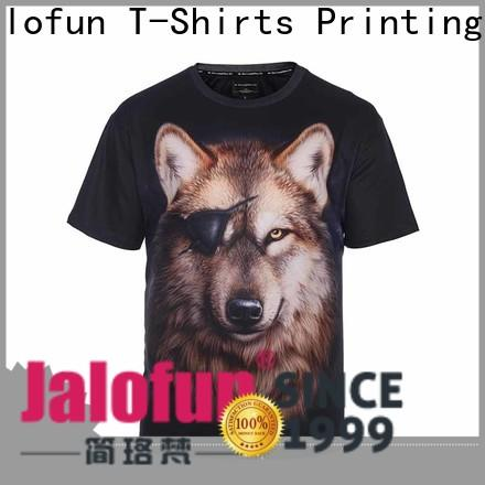 Jalofun quality silk screen printing t shirt supply for spring