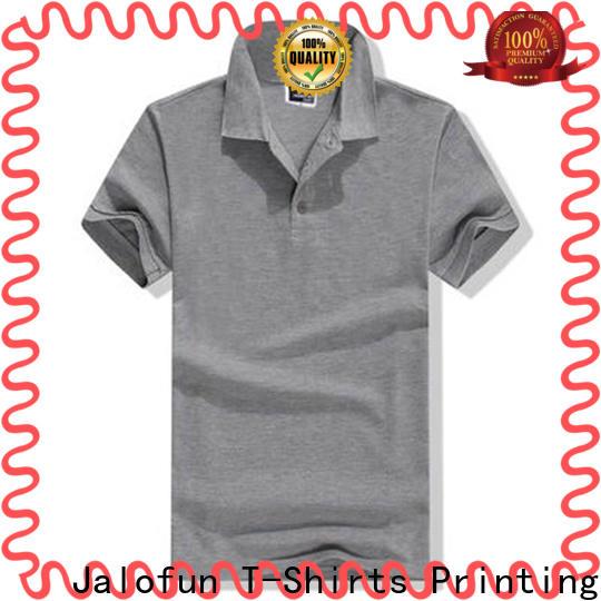 Jalofun Custom pique polo factory for work clothes