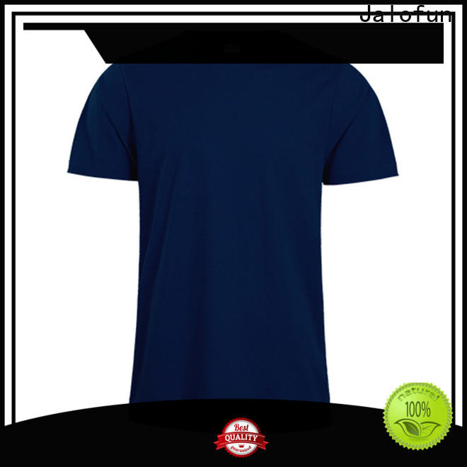 Jalofun Top cotton t shirt company for class uniform
