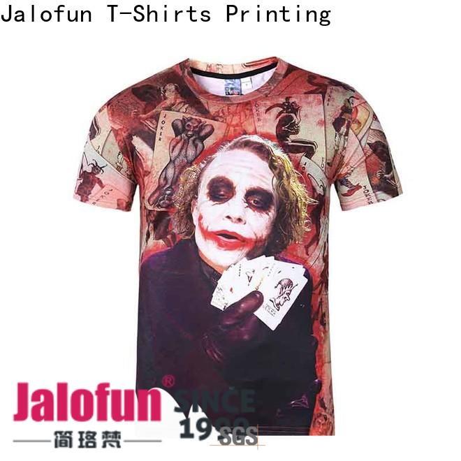 Jalofun Best customized tee shirts supply for sport