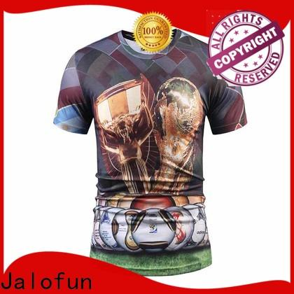 Jalofun promotion bespoke t shirts supply for class uniform