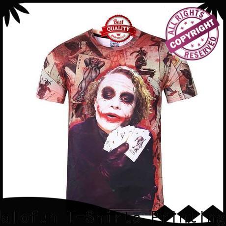 Jalofun Wholesale custom logo shirts for sale for travel