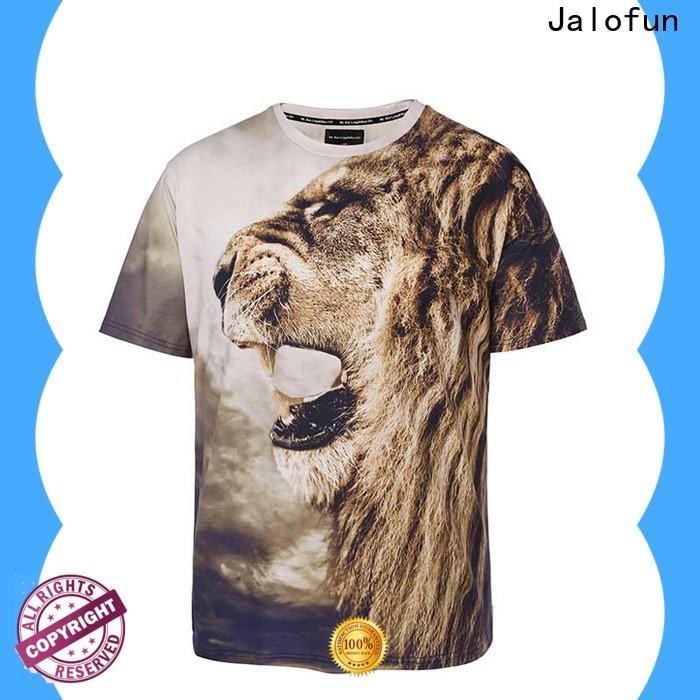 Jalofun tshirts printing shirt supply for work