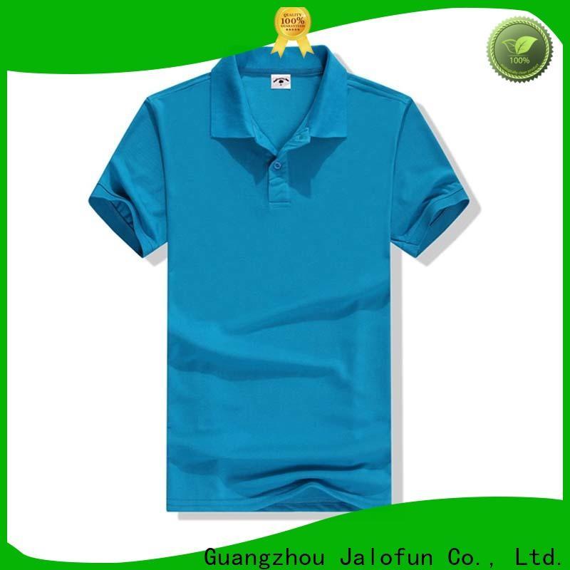 Jalofun clothes cotton polo shirts company for sport