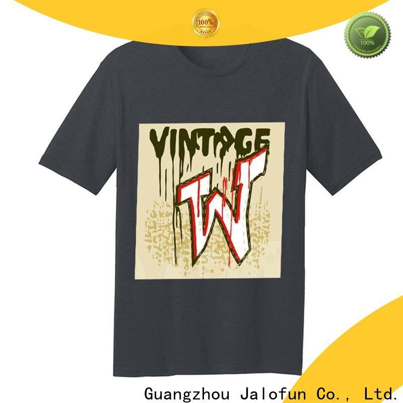 Jalofun Latest tee shirt printing manufacturers for work