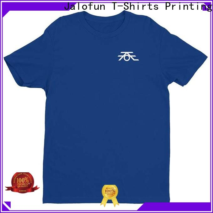 Jalofun Custom direct to garment printing t shirt manufacturers for summer